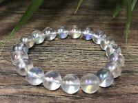 Angel Aura Bracelet Stretchy Gemstone Crystal Stone Therapy Reiki Chakra Wicca.
