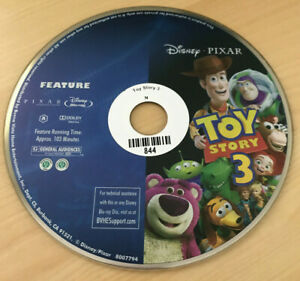 Disney / Pixar Toy Story 3 Blu Ray (2011) Overstock Out of Package Disc Only