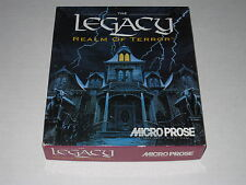 The Legacy: Realm of Terror (PC, IBM, DOS, 1992)