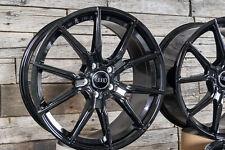 20 Pouces Jantes pour Porsche Cayenne - VW Touareg - Audi Q7 Noir V1 Jantes