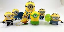 New ListingLot of 7 Minions Despicable Me McDonald's and other Figures Toy