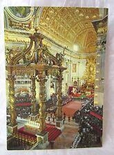 RARE VINTAGE ST. PETER'S BASILICA VATICAN ALTAR POSTCARD GIORDANI BRUNNER & C. !