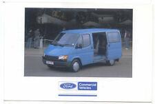 Ford Transit SWB 9 Seat Bus Original postcard FB 1530