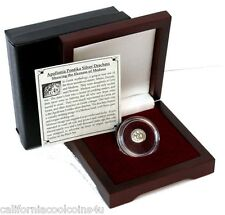500-400 B.C. Ancient Greek Apollonia RARE Silver Drachm of Medusa Very Ancient