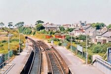PHOTO  UNIDENT RAILWAY STATION DEC 1975