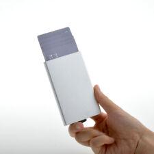 MOLALA Credit Card Holder Aluminum Case Wallet RFID Blocking and Slide Pop Up