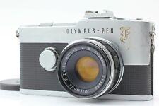 【EXC+++++】OLYMPUS PEN F Half Frame Camera w/ F.Zuiko Auto-S 38mm F1.8 From Japan
