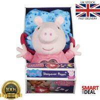 Peppa Pig Sleepover Pink Childrens Kids Toy Lullaby Music Night Light Glow Play