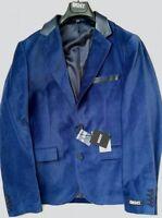 DKNY men's blue velvet blazer size 40R