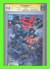 Superman/Batman #10 CGC 9.8 SS Michael Turner Jim Lee VHTF!