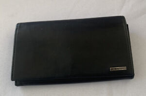 Tumi Soft Leather Checkbook Wallet