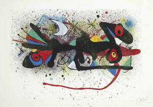 Joan Miro Ceramics of Miro Artigas one print  Giclee Paper Print Poster