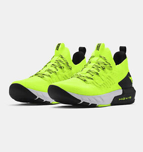 22 Hot Yellow Under Armour Men's UA Project Rock 3 Training Shoes Dwayne Johnson