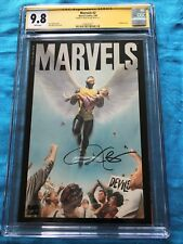 Marvels #2 - Marvel - CGC SS 9.8 NM/MT - Signed by Kurt Busiek