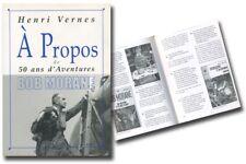 Monographie Bob Morane A propos de Bob Morane