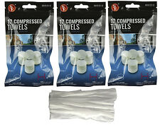 36x Tablet Wash Cloths Compressed Towels Capsules Camping Survival Kits