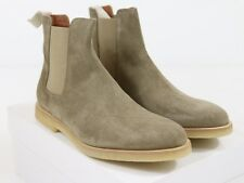 NEW COMMON PROJECTS CHELSEA BOOT Taupe Suede 42 EU