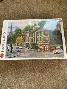 TREFL 6000 piece Jigsaw Puzzle - Street of Paris- Perfect Gift