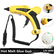 Car Hot Melt Glue Gun Sticks Electric Heating DIY Applicator 12V 60W Repair Tool
