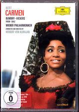 DVD BIZET: CARMEN  Grace Bumbry Jon Vickers Freni KARAJAN Diaz Equiluz Hamari DG