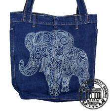 fae7ba6fa9a94 ELEFANT Jeans Denim Shopping Bag Marionelli Tasche   Stofftasche 7 Beutel