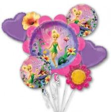 TINKER BELL Foil Bouquet Balloons Kids Birthday Party Disney Fairies
