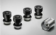 Genuine Jaguar Locking Wheel Nut Set Black