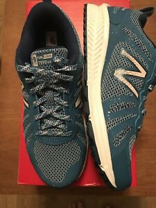 NEW BALANCE LADIES WT590 V4 TRAIL RUNNING Shoes SIZE UK 4 New In Blue & Pink
