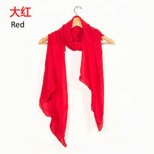 * Women Oversized Cashmere Wool Solid Pashmina Scarf Wraps Warm Blanket Scarves