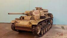 heng long 1/16 panzer iii  or panzer iv rc model tank custom painted