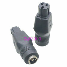 3pcs Adapter DC Power 3pin orifice holes male to 5.5 x 2.1 mm female DELL laptop