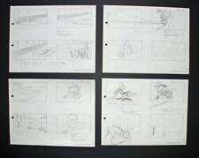 Signed Friz Freleng Pink Panther Storyboard Set 6, 1967