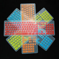 New Keyboard Skin Cover Protector for Dell Desktop Computer PC wireless Standard