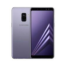 Smartphone Samsung Galaxy A8 2018 Dual Sim - 32 Go - Gris Orchidée