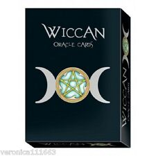 Wiccan Oracle Cards Set NEW Sealed 32 cards 160pg book Wheatherstone Hemhamvibul