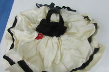 Vogue Jill Doll Dress Semi Formal 1957 Velvet Satin With Flower #7403 Tagged