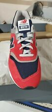 New Balance 997H Men's Athletic Sneakers CM997HBJ - Red/Navy/Gray, Size 10
