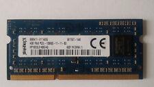GENUINE KINGSTON LAPTOP MEMORY HP16D3LS1KBG/4G 4GB 1RX8 PC3L-12800