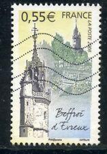 TIMBRE FRANCE OBLITERE N° 4196 // BEFFROI D'EVREUX
