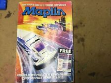 More details for maplin catalogue 1989 collectable