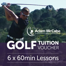 PGA Professional Tuition Package - 6 x 1hr lessons - Great Xmas Present/Gift!
