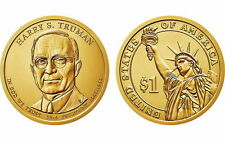 2015 P D $1 Harry S. Truman Presidential Dollar 2 Coin Set Uncirculated