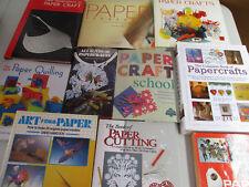 Papercraft Origami Paper Cutting Arts & Crafts Paper Big Lot Hard Covers