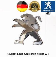 Peugeot 308 Löwe Emblem Abzeichen Hinten Bonnot 3 & 5 Tür Neu 96746765VD