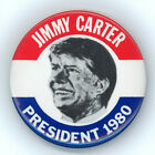 """Great ~ """" JIMMY CARTER / PRESIDENT 1980 """" ~ 1980 Re-election Button"""
