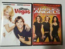 Cameron Diaz Dvd De Los Ángeles de Charlie & lo que pasa en Vega $