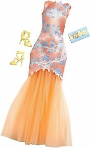 Barbie Complete Look Fashion Pack #5 - Orange Dress