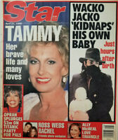 Star Tabloid April 21 1998 Wacko Michael Jackson Kidnaps Baby - Ally McBeal