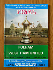 1975 FA Cup FINAL FULHAM v WEST HAM UNITED, 3rd May VGC