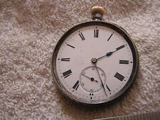 Antique Silver Pocket Watch .935